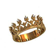 Кольцо как корона