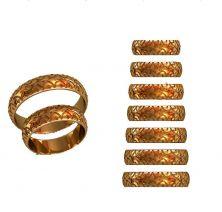 Обручальные кольца  в виде шин