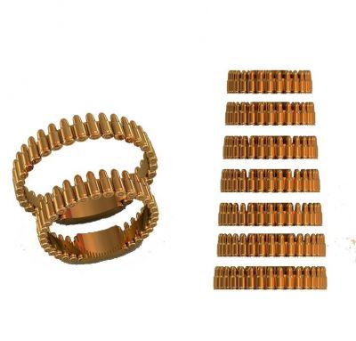 Обручальные кольца патроны