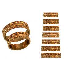 Обручальные кольца стиль