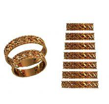 Обручальные кольца стильные