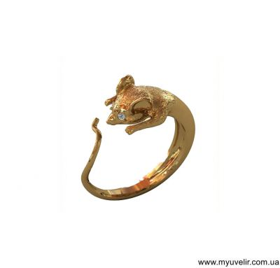 Кольцо мышка