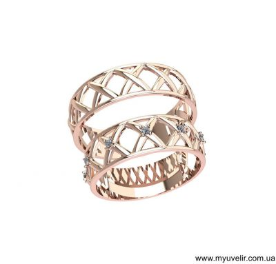 Обручальные кольца Х