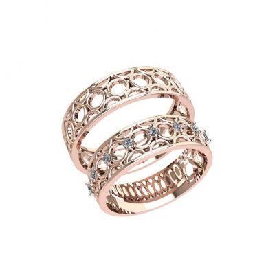 Обручальные кольца нолики