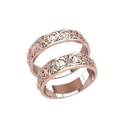 Парные кольца восьмерки