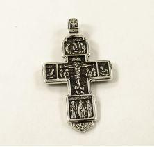 Большой крест православный двусторонний