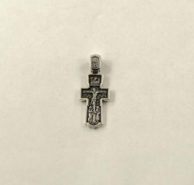 Крест Распятие Христово с предстоящими. Архангел Михаил