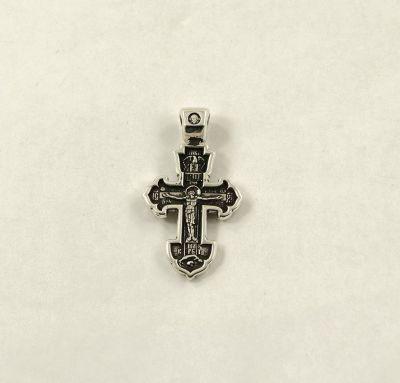 Крест Распятие Христово с Николаем Чудотворцем