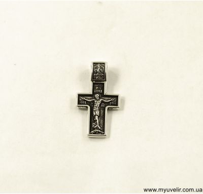 Крест православный с Иисусом