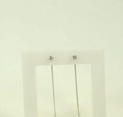 Серьги цепочки