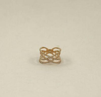 Женское кольцо стиль