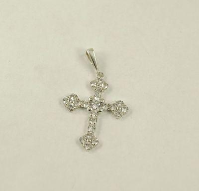 Женский крест с камнями